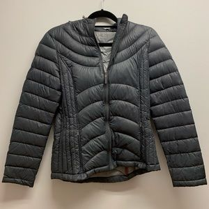 andrew Marc Gray Puffer Down Coat